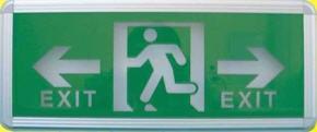 Đèn exit 2 mặt chỉ dẫn