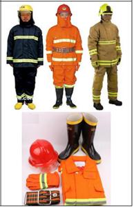 Quần áo chống cháy.